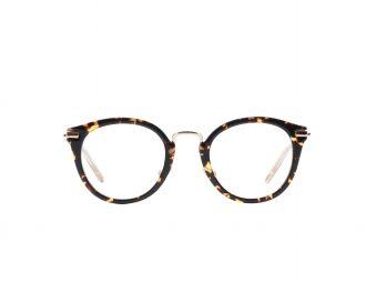 Bril die lizzy draagt van merk jimmy choo